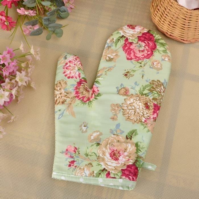 Green Forest Gloves Sarung Tangan Dapur