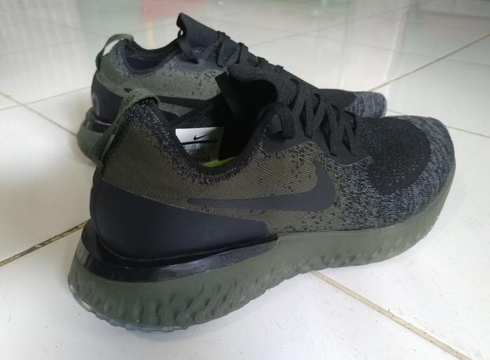 84448d6da618 Jual Nike Epic React Flyknit Original - Hitam