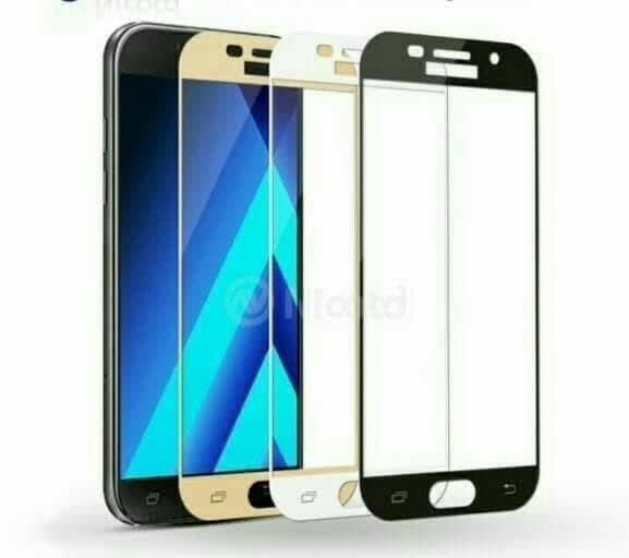 Jual Screen Guard Temperd Glass Warna Samsung Galaxy A6 Plus Full