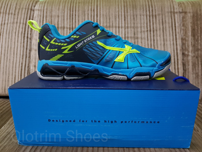 Sepatu volly mitzuda lightstar iii blue light star 3 original e41a19a7f6