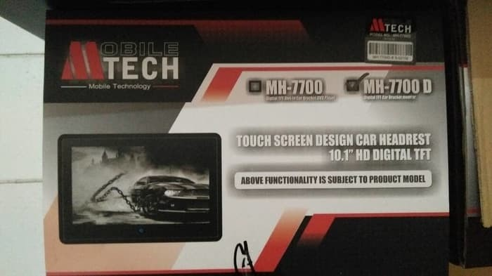 harga Headrest clip-on monitor mtech mh-7700d 10 inch termurah!!! Tokopedia.com