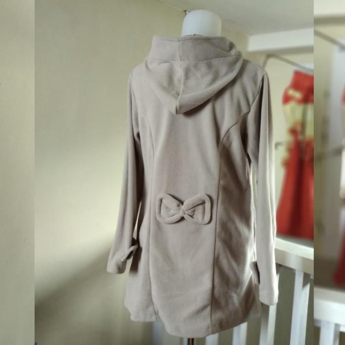Jual Blazer   Jaket Korea Wanita Minako Hoodie - Baju Bandung ... ec3dce4682