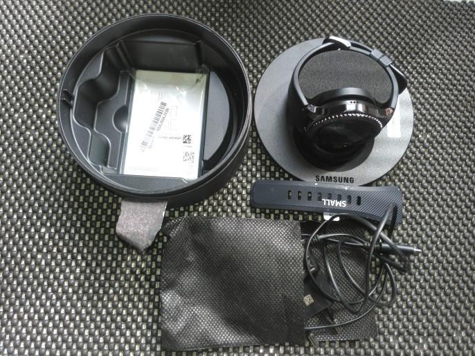 Samsung gear S3 frontier - Abu-abu