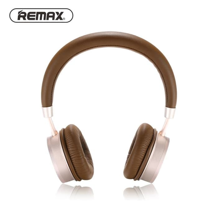 harga Remax bluetooth headphone rb-520 series brown - cokelat Tokopedia.com
