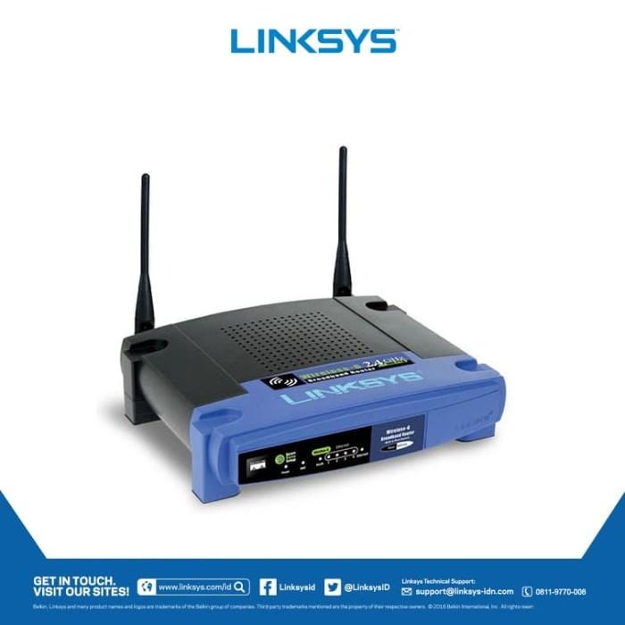 harga Linksys wrt54gl-as wireless-g wireless router Tokopedia.com
