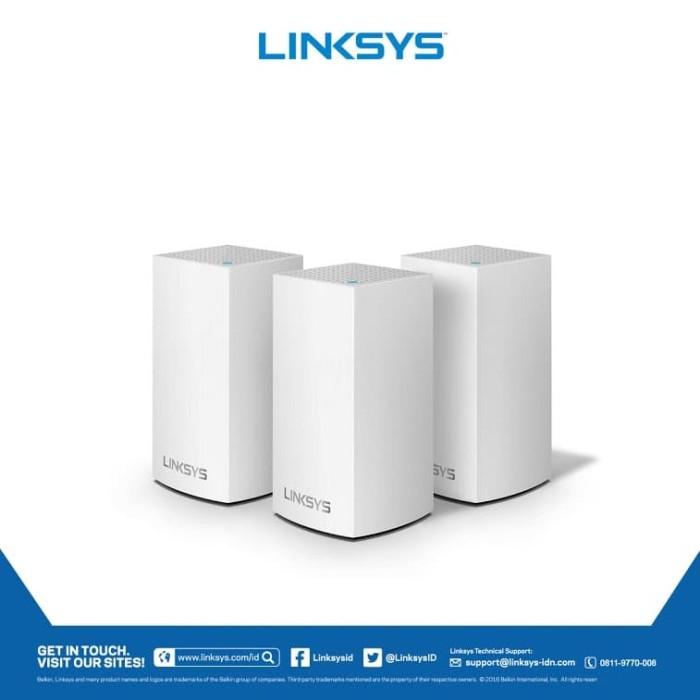 harga Linksys velop whw0103-ah ac3900 dual band mu-mimo 3 pack mesh network Tokopedia.com