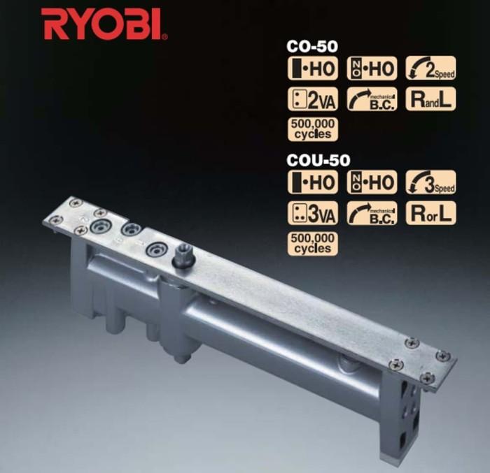Foto Produk Penutup pintu - RYOBI Concealed Door Closer COU-152 with hold-open dari citraamantosa