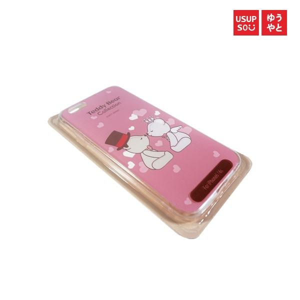 harga Usupso teddy bear case iphone - pink Tokopedia.com