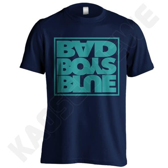 KAOS BAD BOYS BLUE 01 - KGD - DONGKER UKURAN S-XXL