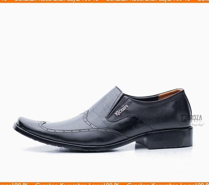 Sepatu Pantofel Pria Formal Kulit Asli Slip On Oxford Best Model 1018 903317f6dd