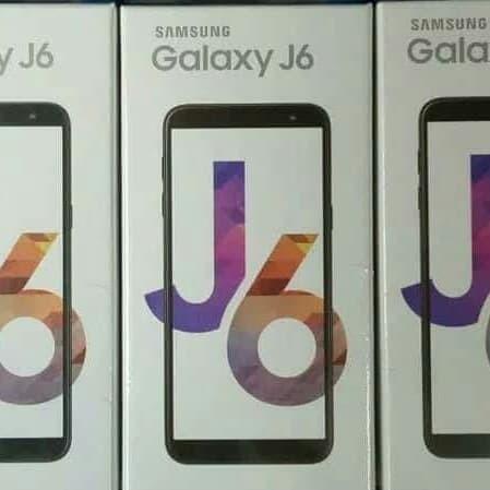 Harga Samsung Galaxy J6 2018 Ram 3gb Rom 32gb Garansi Resmi Sein 1tahun