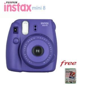 harga Fujifilm kamera instax mini 8 camera polaroid grape garansi resmi Tokopedia.com