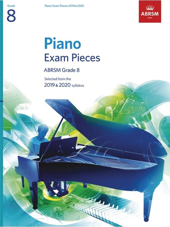 harga Buku ujian piano exam pieces abrsm grade 8 2019 - 2020 Tokopedia.com