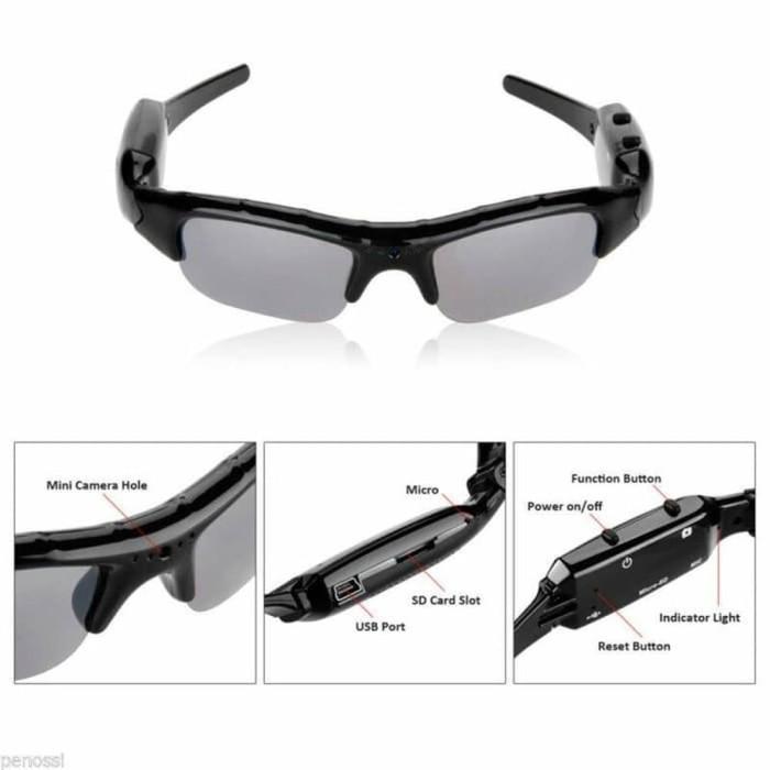 Jual Kacamata Kamera Pengintai Kacamata Spy Cam - WeciAnget  818db5a559