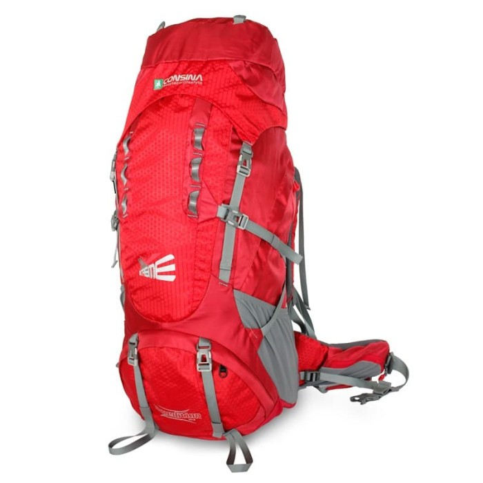 Foto Produk Carrier Consina Expedition 75 + 5 L - Merah dari Canary.Project