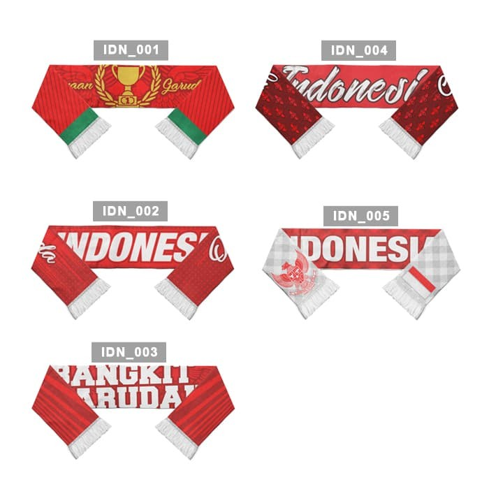 Foto Produk Syal Indonesia Spesial Edition Asian Games - Vol 1 dari Indoknit