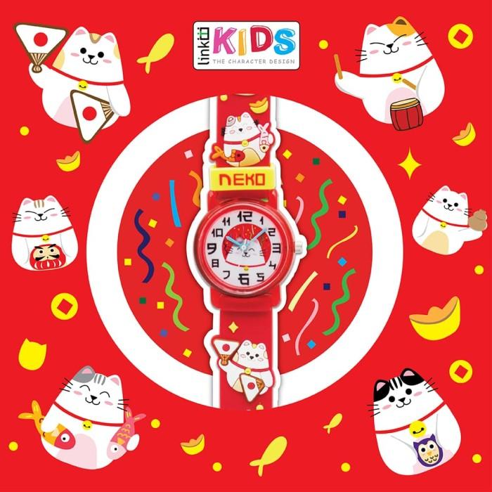 Jual KT-23 Link graphix Neko Size SS Jam Tangan Anak Unik - RED Kids ... 69d18ce5b8