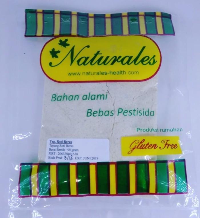 harga Tepung roti beras naturales - tepung gluten free - autis food - bahan Tokopedia.com