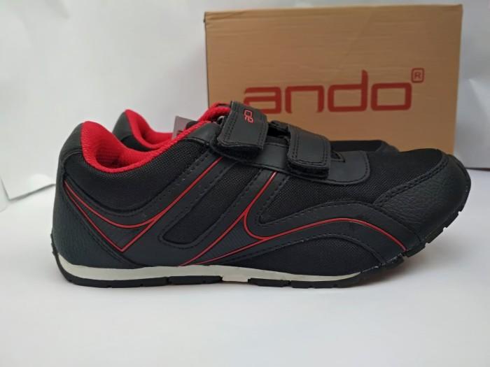 harga Sepatu sekolah anak hitam perempuan sd original ando huper 33-36 sep Tokopedia.com