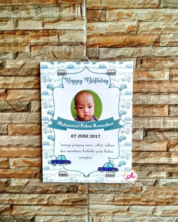 Foto Produk Hiasan Rumah Dekorasi Rumah Shabby: Hadiah/ Kado Biodata Bayi 16 dari ai_decor