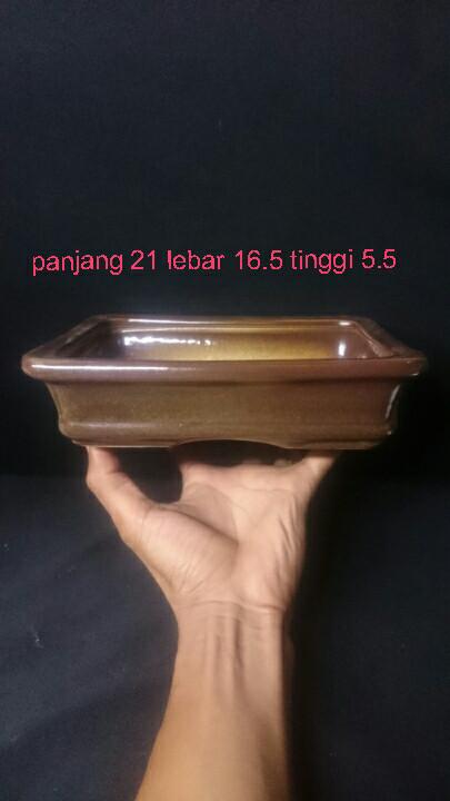 harga Pot keramik kotak ceper m mame bonsai kaktus sukulen tanaman hias Tokopedia.com