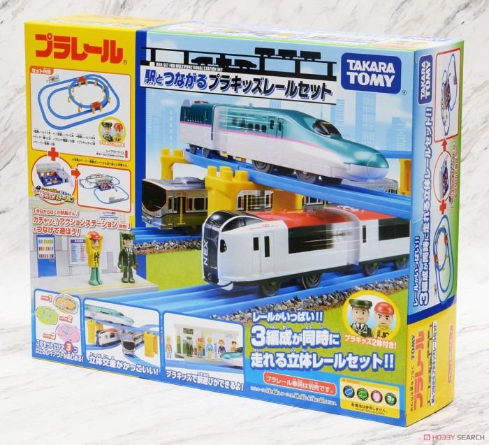 harga Takara tomy original plarail rail set for multifunctional station set Tokopedia.com