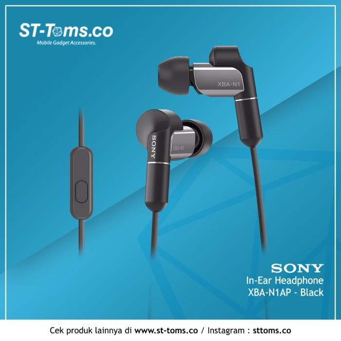 harga Sony in ear headphone xba-n1ap - hitam Tokopedia.com