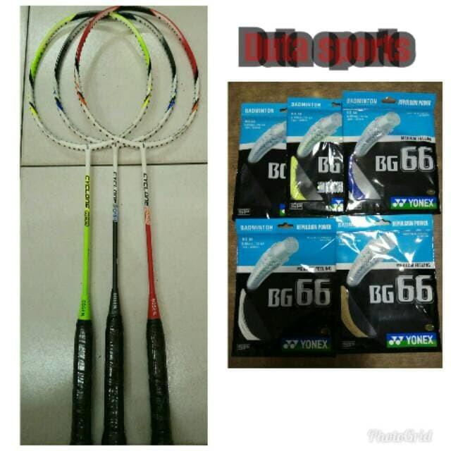 harga Raket Badminton Gosen CYCLON 700/800/900+senar Yonex BG-66+Pasang Tokopedia.com