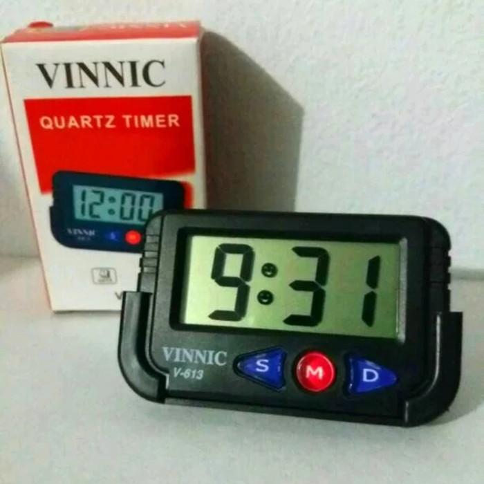 Foto Produk Jam Mobil Digital VINNIC QUARTZ TIMER V-613 harga murah dari zahwaherbal