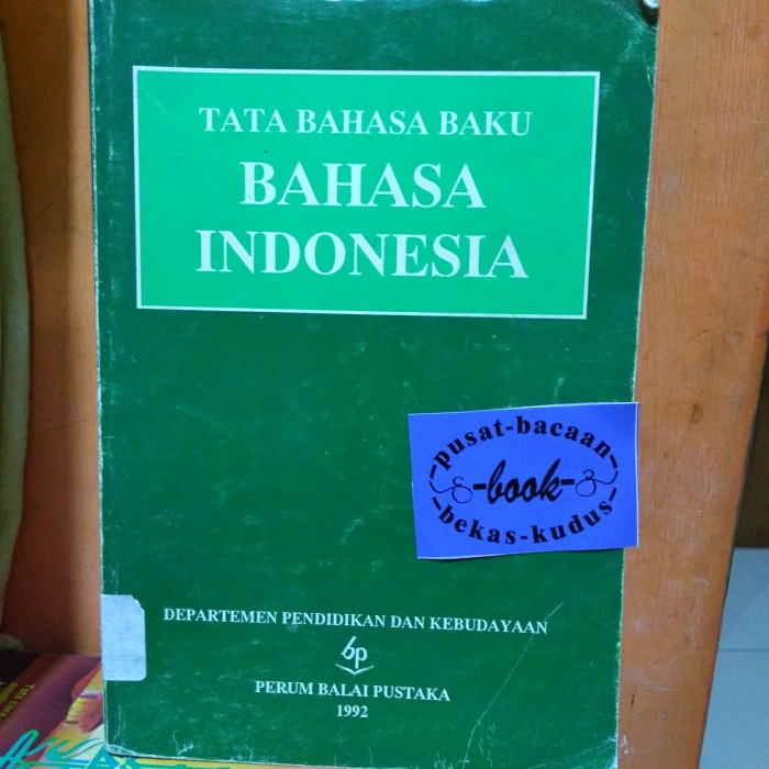 Ebook Tata Bahasa Baku Bahasa Indonesia