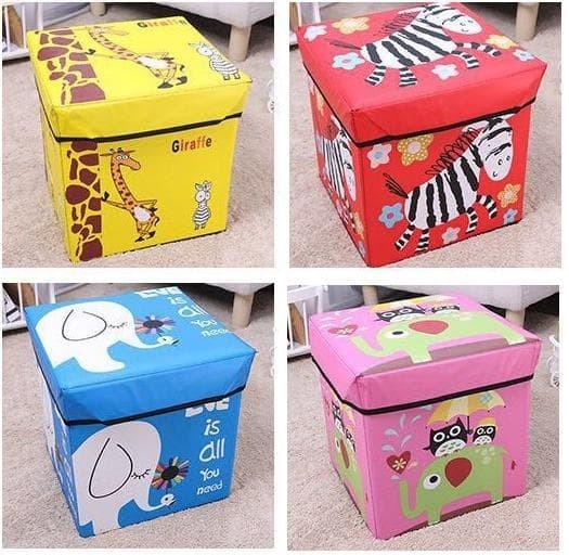 Foto Produk 335 Animal Storage box / Tempat Mainan / Majalah /kursi organizer - pink owl dari laris_88 computer