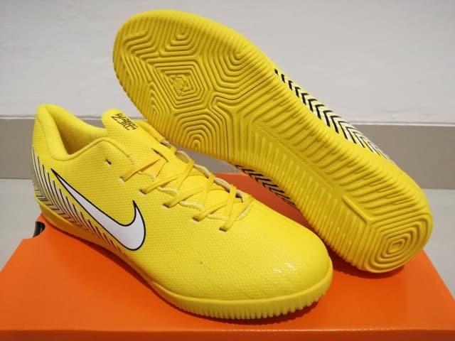Jual Sepatu Futsal Nike Mercurial Vapor Xii Elite Neymar Yellow