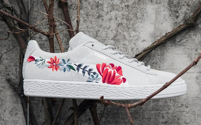 harga Sepatu sneakers wanita puma suede hyper embellished original Tokopedia.com