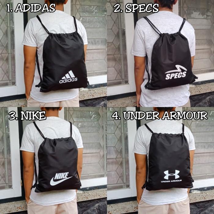 861fd2340727 Jual Gymsack   Drawstring   Tas Serut   Tas (Nike   Adidas) - Kota ...