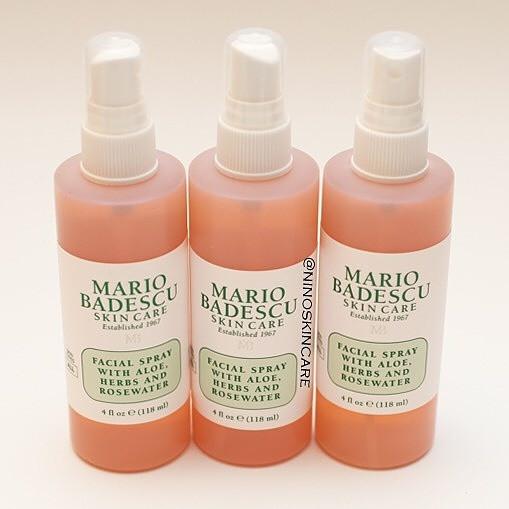 Jual Mario Badescu Facial Spray With Aloe Herb And Rosewater Jakarta Barat Nino Beauty Store Tokopedia