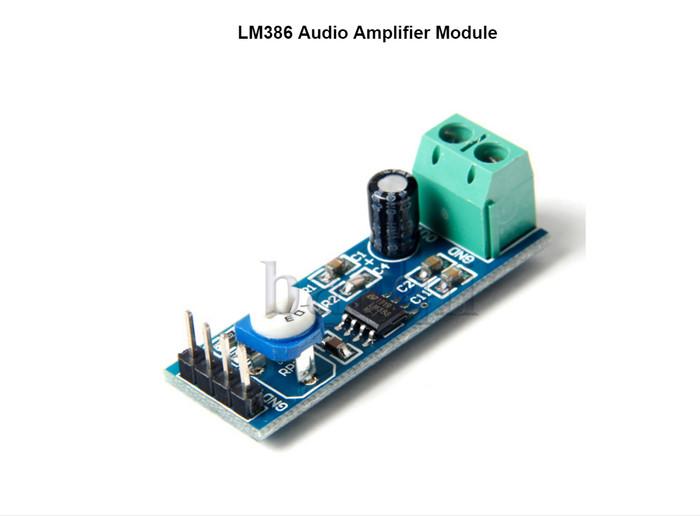 Jual LM386 Audio Amplifier Module 5V-12V with Adjustable volume control -  Kota Administrasi Jakarta Barat - arduinouno | Tokopedia