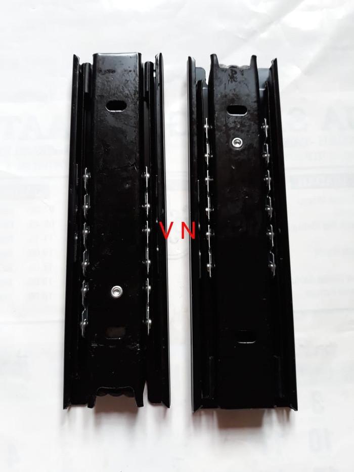 Foto Produk Rel laci 15 cm Double track full extension dari Toko VN