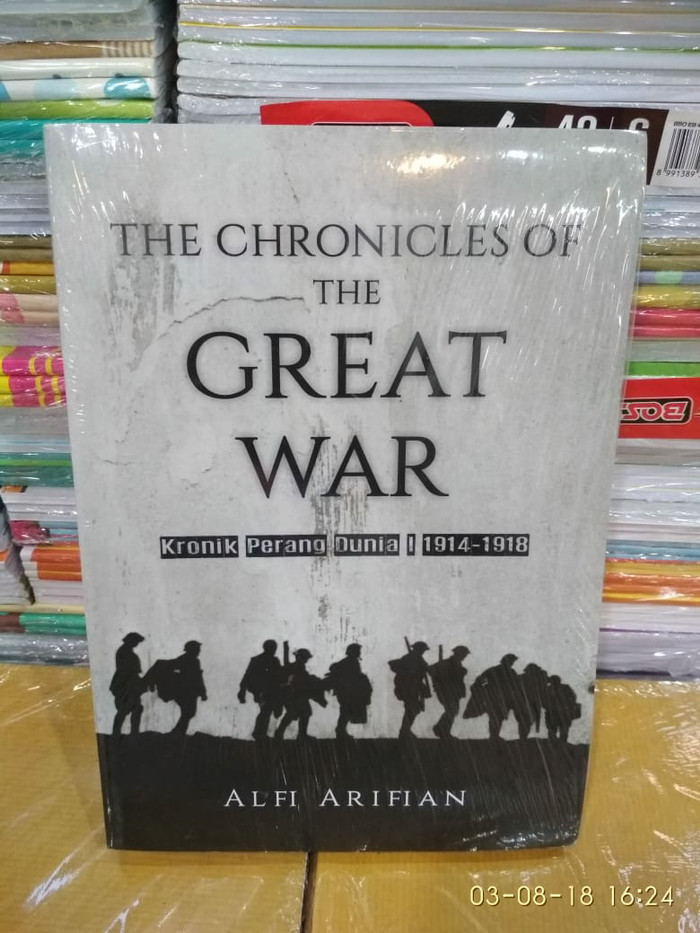 harga Buku the chronicles of the great war: kronik perang dunia i Tokopedia.com