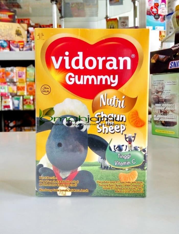 VIDORAN GUMMY VITAMIN C. VITAMIN ANAK ANAK