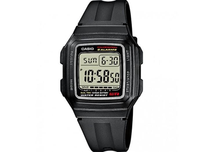 harga Jam tangan casio f-201wa-1a Tokopedia.com