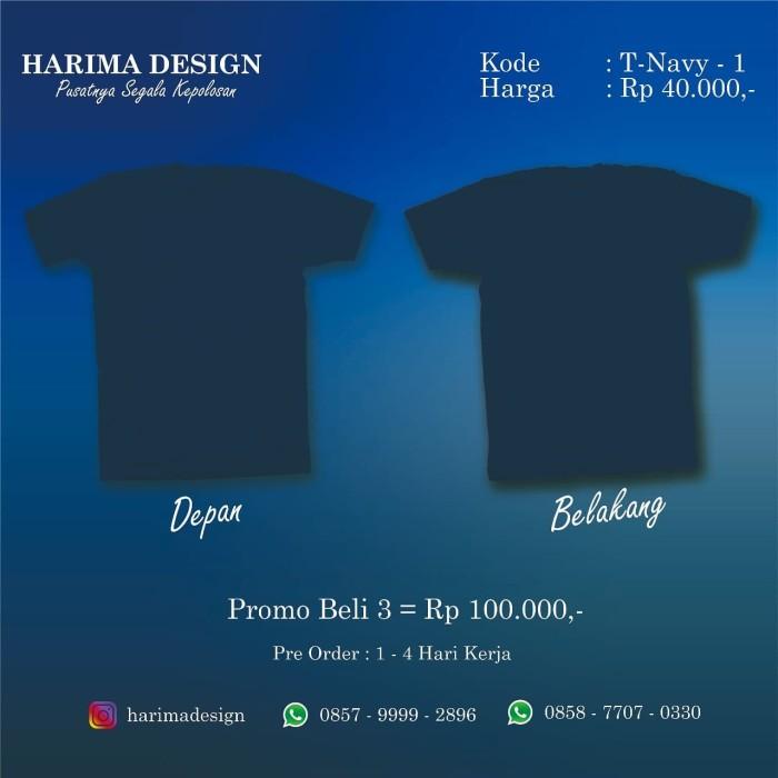 42 Desain Baju Polos Navy Gratis Terbaru