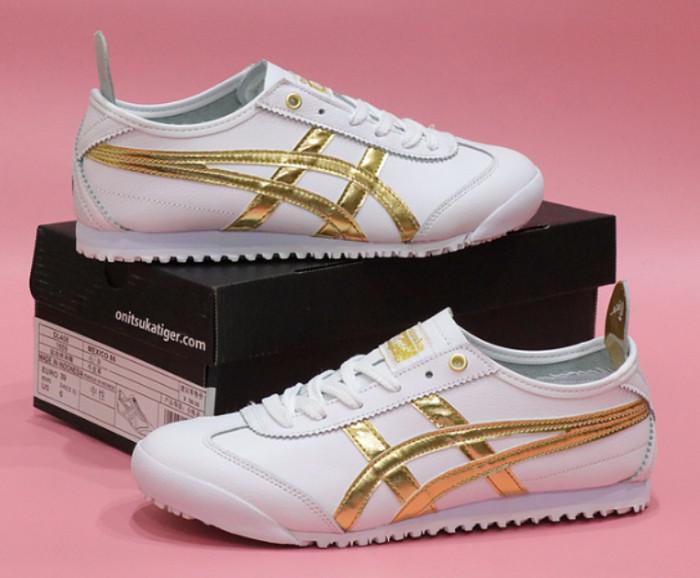 watch c1709 81947 Jual Sepatu Asics Onitsuka Tiger Mexico 66 White Gold Leather - DKI Jakarta  - Areba_store | Tokopedia