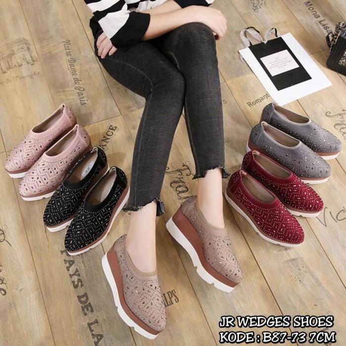 harga New arrival!!! jr wedges shoes b87-73 brand original!!! Tokopedia.com