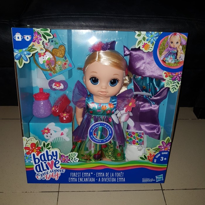 harga Baby alive special edition blonde forest emma - mainan anak perempuan Tokopedia.com