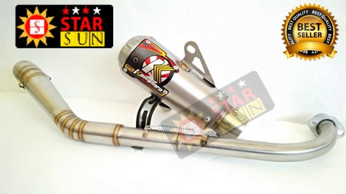 harga Knalpot kawahara racing gtx / gastrak motor jupiter z supra blade dll Tokopedia.com