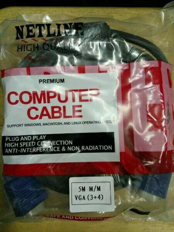 Foto Produk Kabel VGA 5M Netline dari PojokITcom Pusat IT Comp