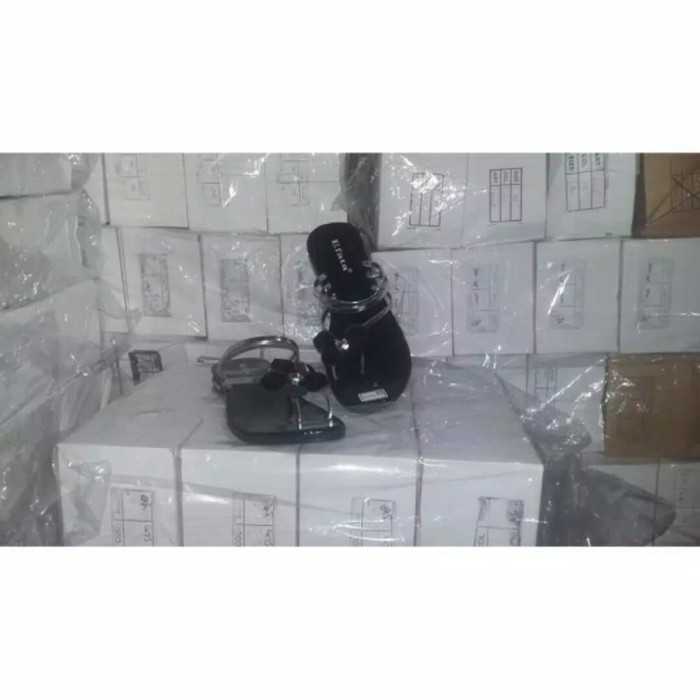 Sandal Teplek MI09 SILVER- GD 175 Murah