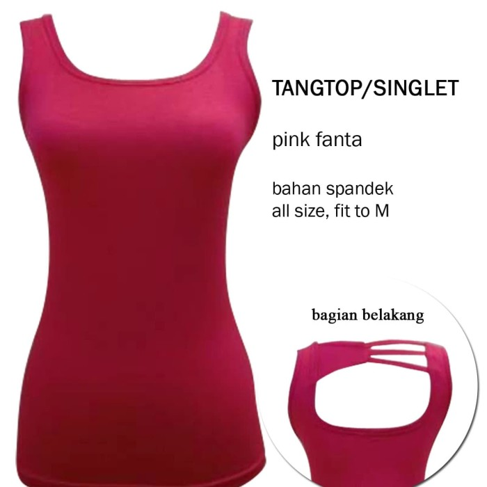 harga Tangtop singlet wanita Tokopedia.com