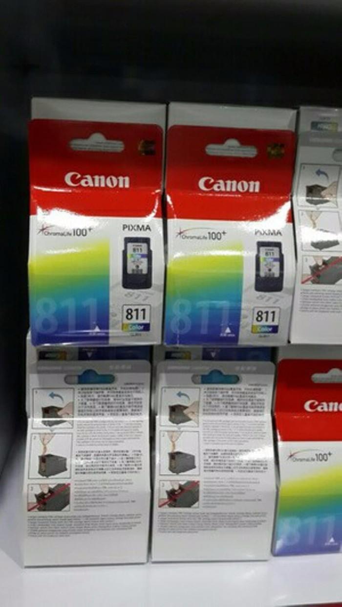 Jual Canon Original Ink Cartridge Pg 811 Color Harga Rp 250000 Cl811 Tinta Cl Warna 100 Origin