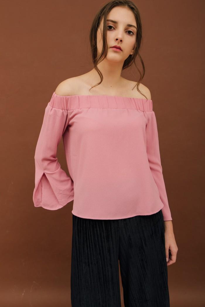harga Someday - pink sabrina top Tokopedia.com